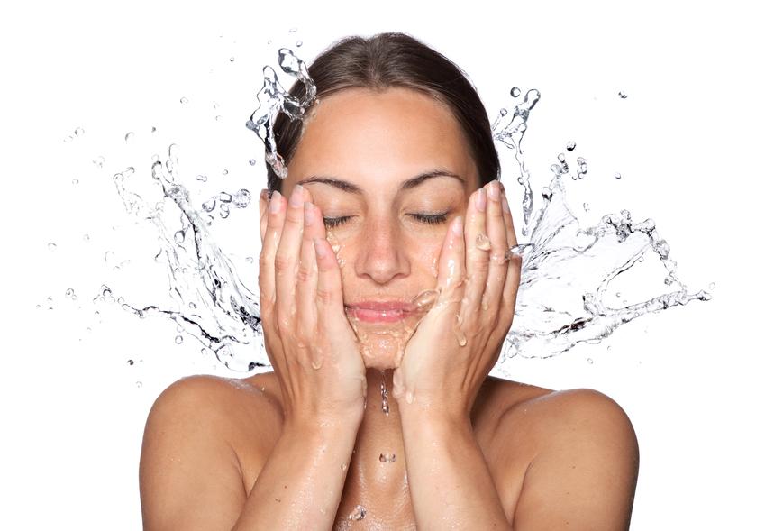 умывание водой как влияет на кожу