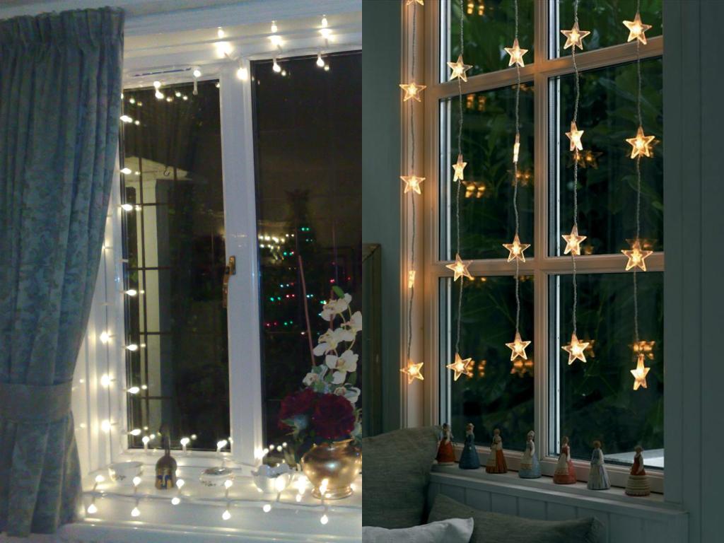 Новый год на окнах: 3 варианта декора - фото №4