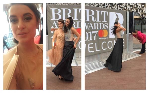 Как 21-летняя киевлянка собиралась на красную дорожку: специальный репортаж с церемонии Brit Awards 2017. ЭКСКЛЮЗИВ - фото №9