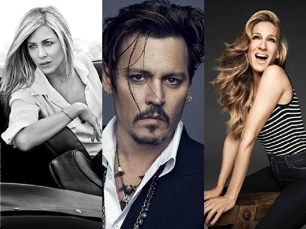 Как звезды снимаются в рекламе: Сара Джессика Паркер, Дженифер Энистон и Джонни Депп в промо июня - фото №1