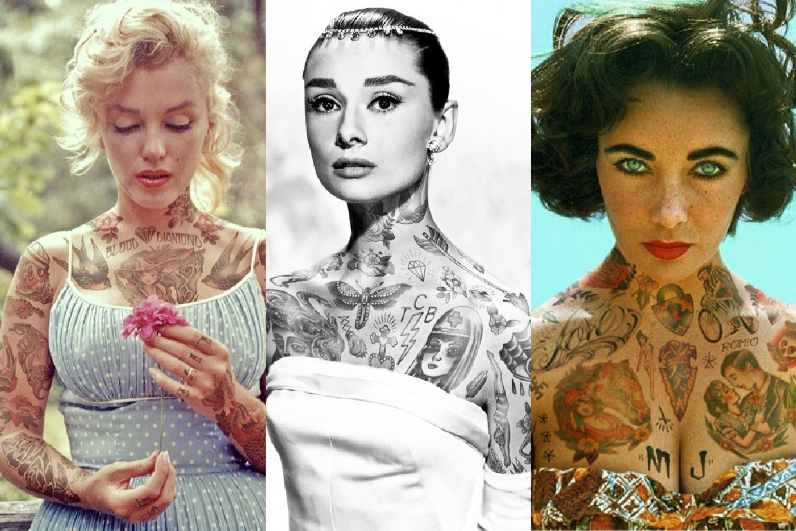 Если бы все звезды были в татуировках: новые наколки Брэда Питта и Дженнифер Лоуренс - фото №1