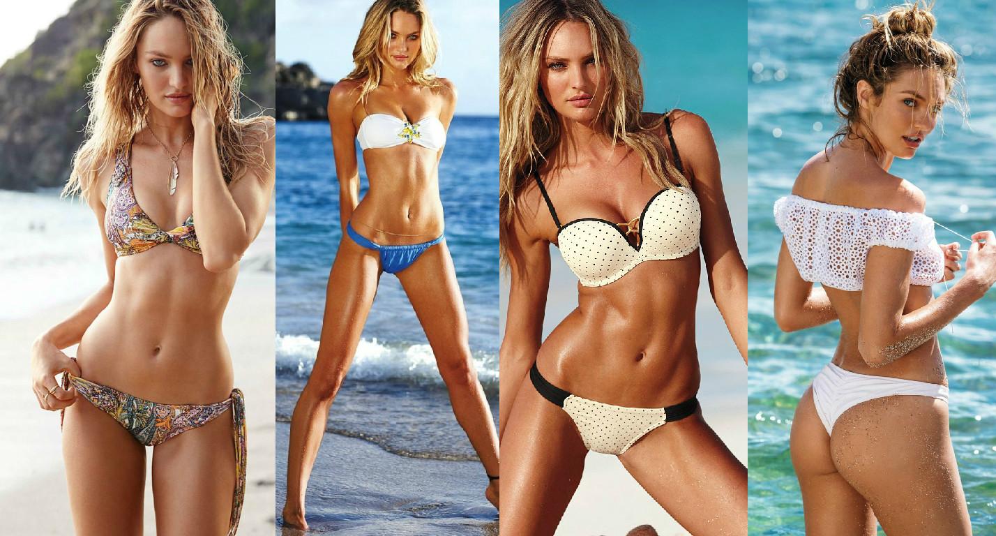 Самая красивая модель Victoria's Secret выходит замуж: любуемся свадебными фотосессиями Кэндис Свейнпол - фото №1