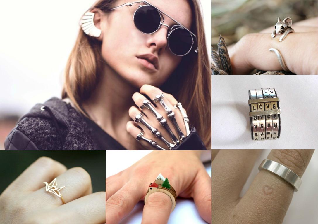 Оригинальные кольца: дизайн, который радует глаз и ум - фото №1