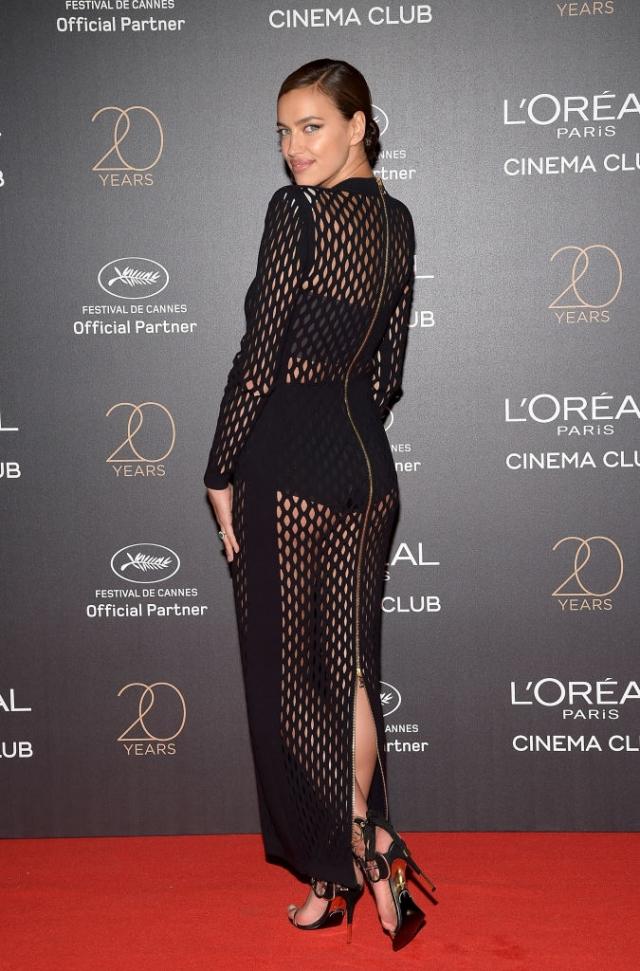 Вот это мама: Ирина Шейк показала стройную фигуру в прозрачном платье на Каннском кинофестивале-2017 (ФОТО) - фото №2