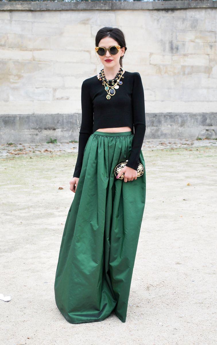 Тренд: изумрудно-зеленый цвет - как и с чем носить - фото №18