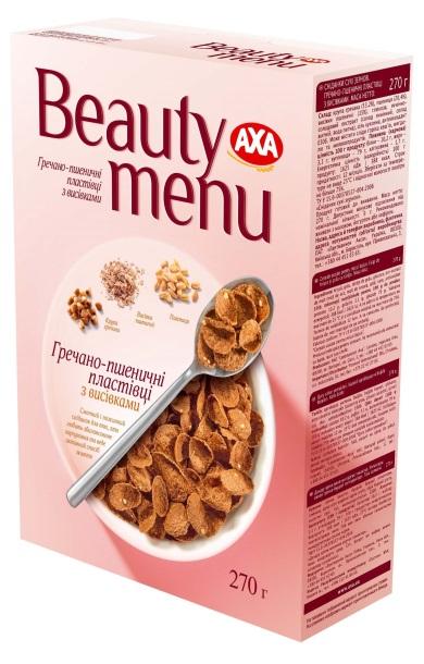 AXA Beauty menu