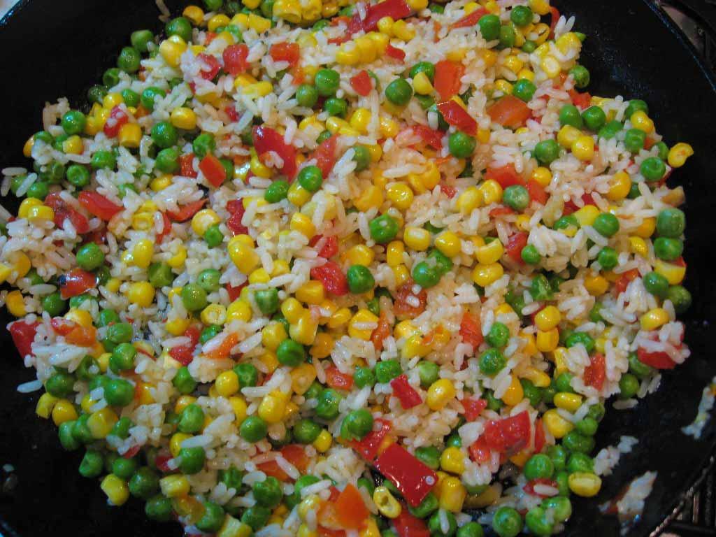 готовые овощные смеси