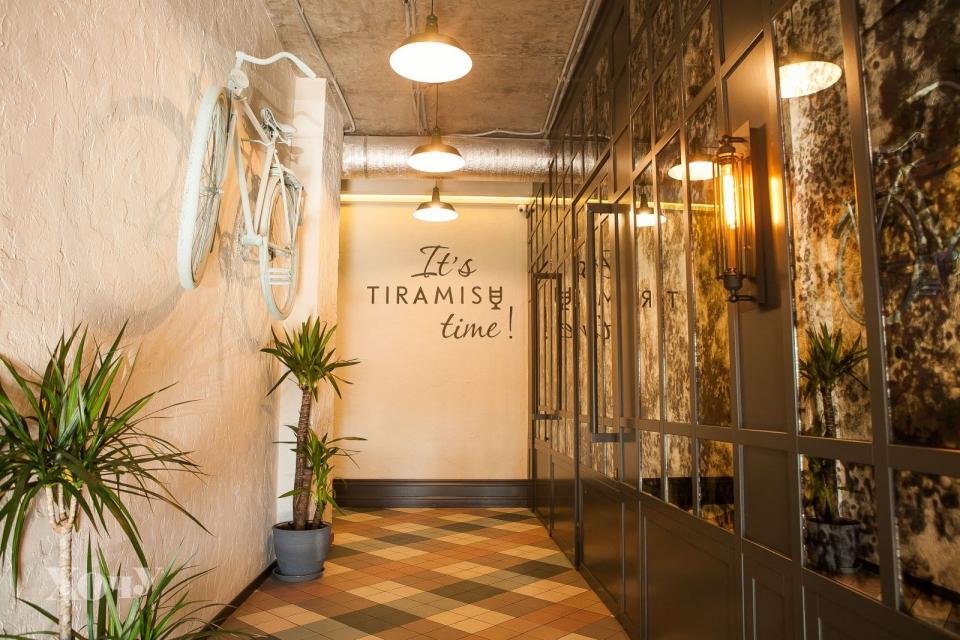 Где в Киеве можно попробовать семь видов тирамису и кофе со сладким облаком: Tiramisu bar - фото №10