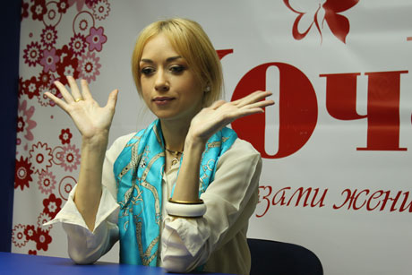 Наталья Валевская в гостях у ХОЧУ. ФОТО И ВИДЕО - фото №2