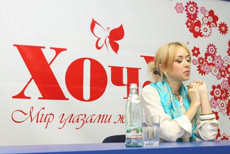 Наталья Валевская в гостях у ХОЧУ. ФОТО И ВИДЕО - фото №4