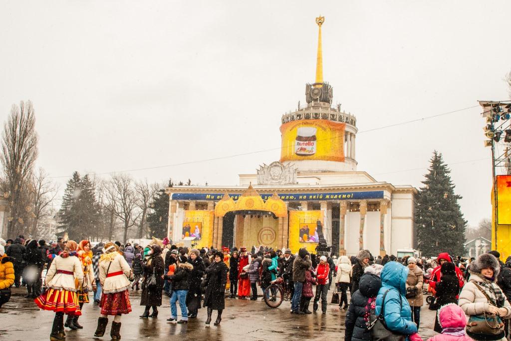 Столица встретила Масленицу по-новому - фото №2