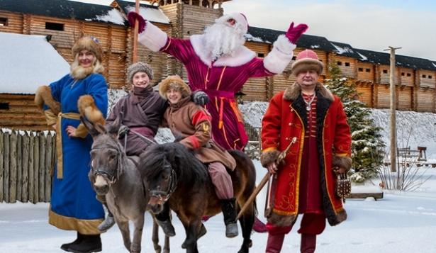 Новогодняя сказка. Киевская Русь