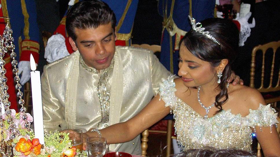Ваниши Миттал свадьба фото