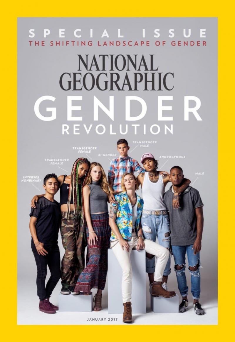 Итоги 2016: к чему приведет трансгендерная революция National geographic january 2017