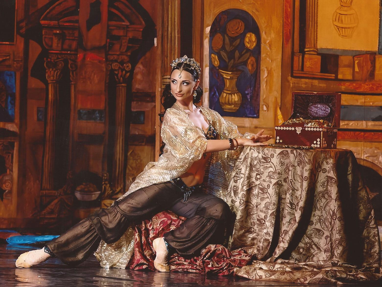 Кристина Шишпор поделилась секретом стройности и привлекательности балерин - фото №1