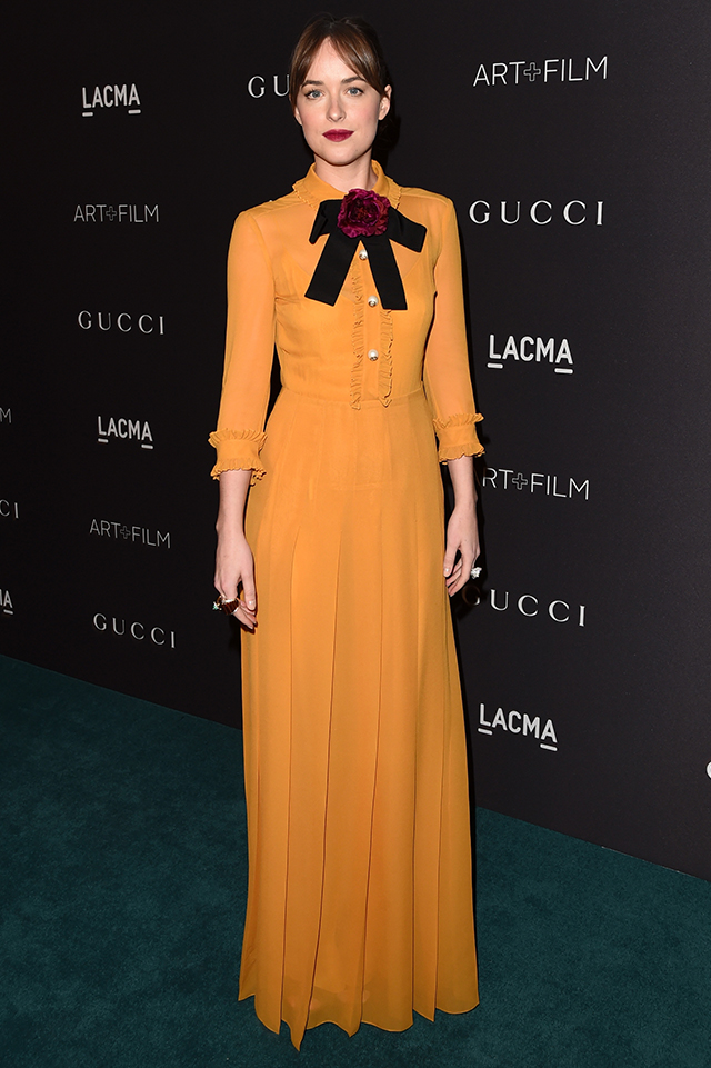 LACMA 2015 Art + Film Gala: бант, оборки и наряды Gucci
