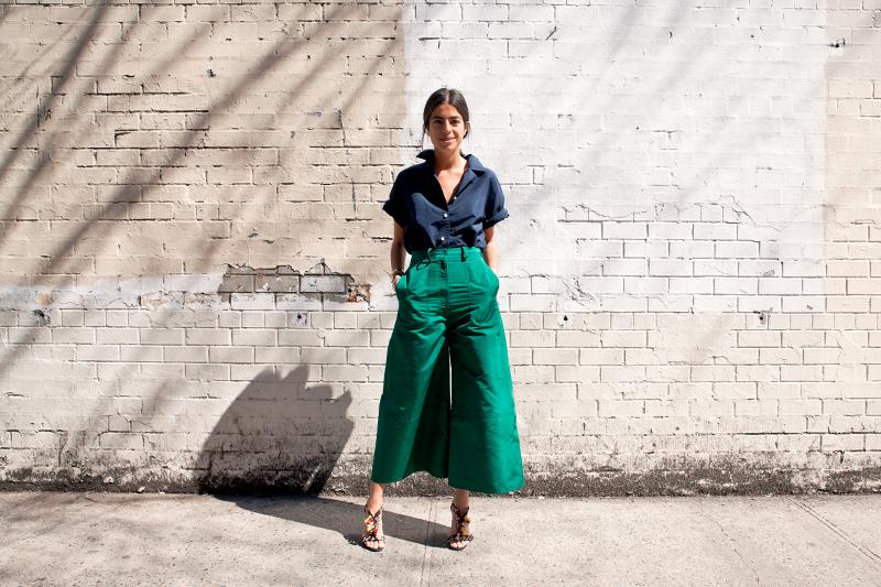 Тренд: модные брюки-кюлоты - фото №16