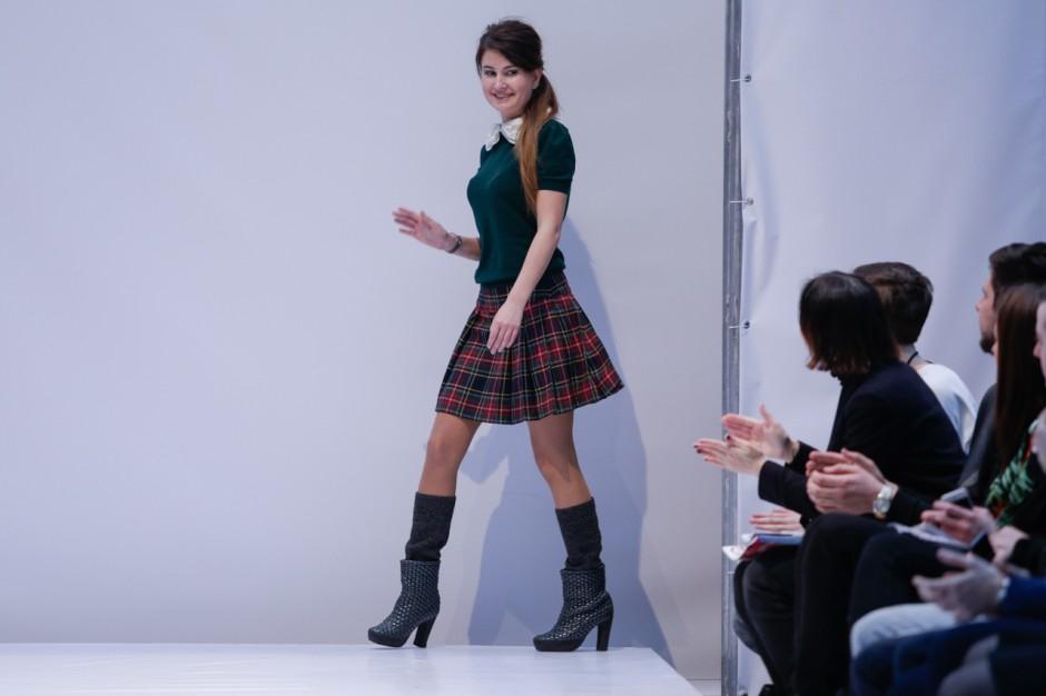 Kiev Fashion Days: коллекция Lera Leshchova осень-зима 2014-2015 - фото №1