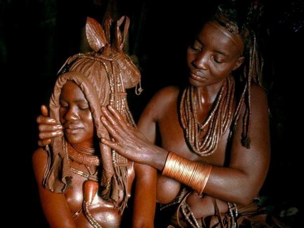 первая брачная ночь в африке