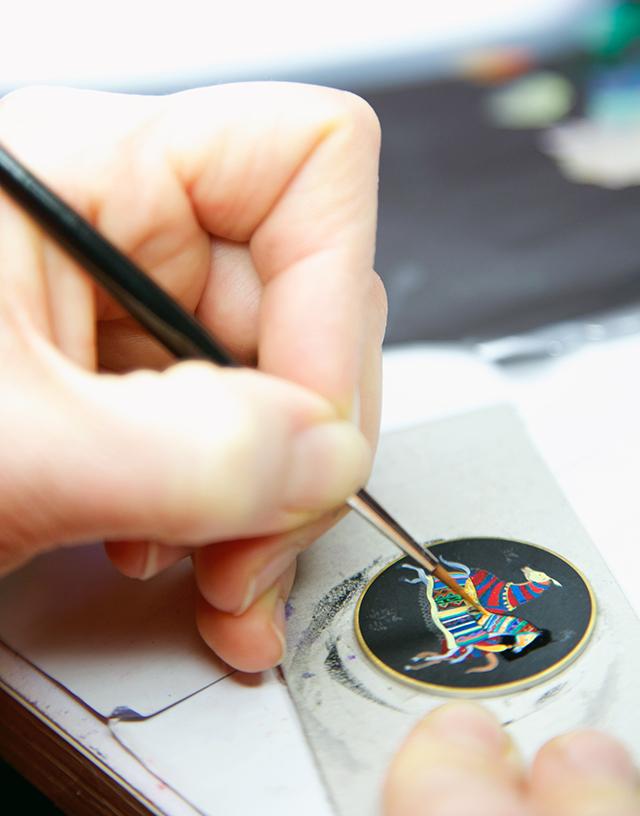 Часы Cheval d'Orient от Hermès - фото №1