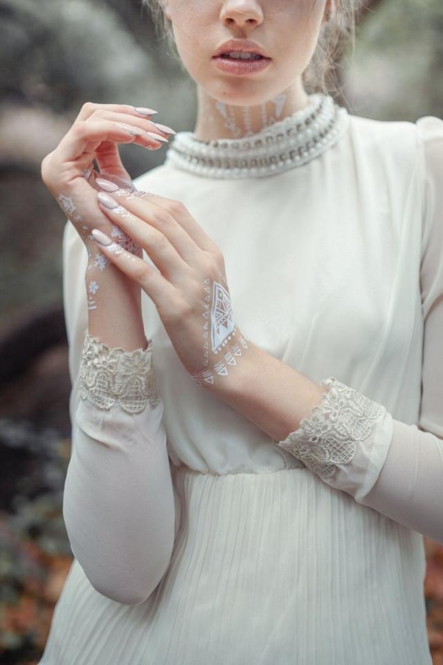 Свадебные переводные флеш-тату: что это и зачем они нужны - фото №1