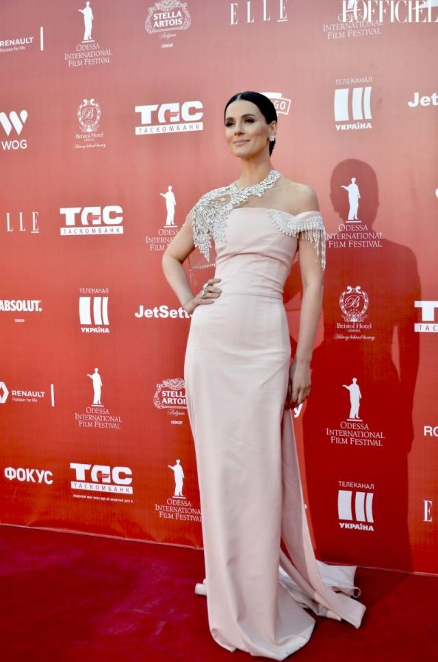 Красная дорожка церемонии закрытия Одесского кинофестиваля-2016