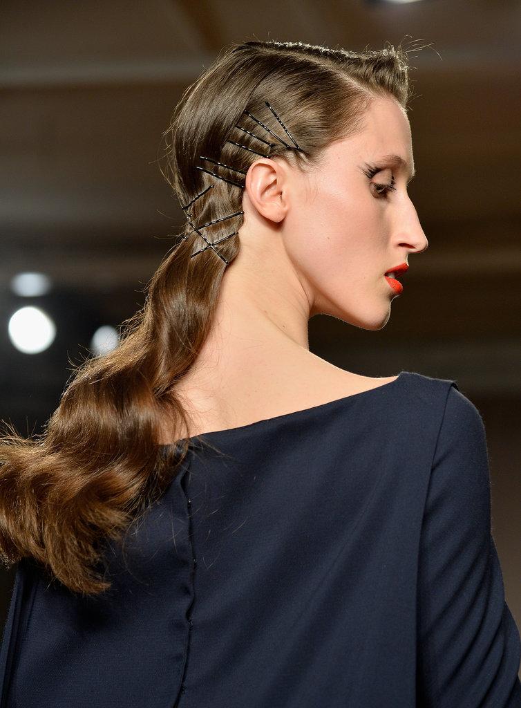 Идеи использования аксессуров для волос - фото №1