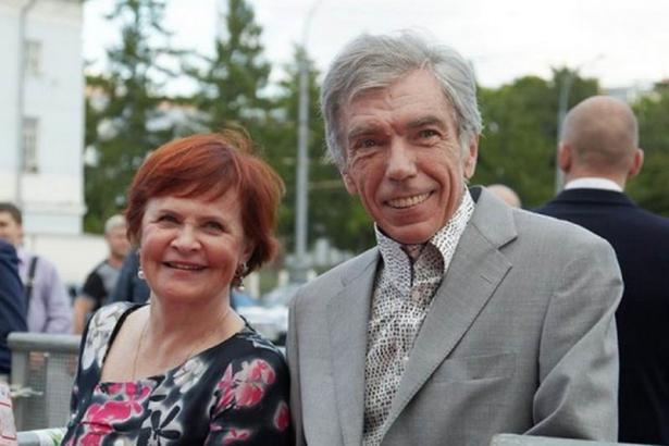 Юрий Николаев и его жена Элеонора