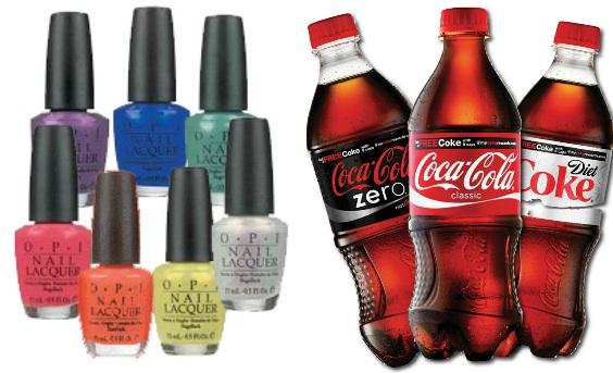 Coca-Cola выпустит коллекцию лаков для ногтей - фото №1