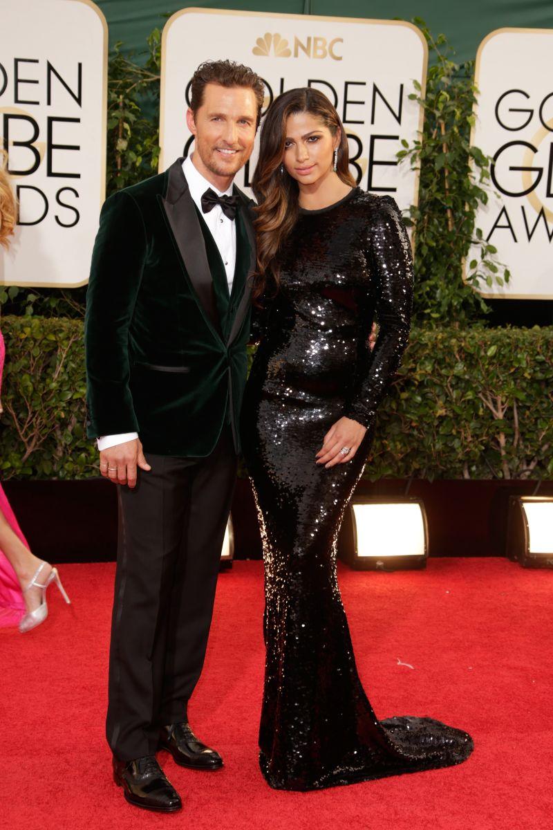 Золотой Глобус 2014: самые красивые звездные пары - фото №3