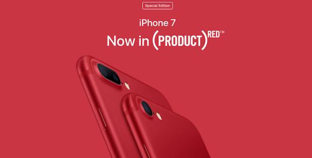 фото красного айфона