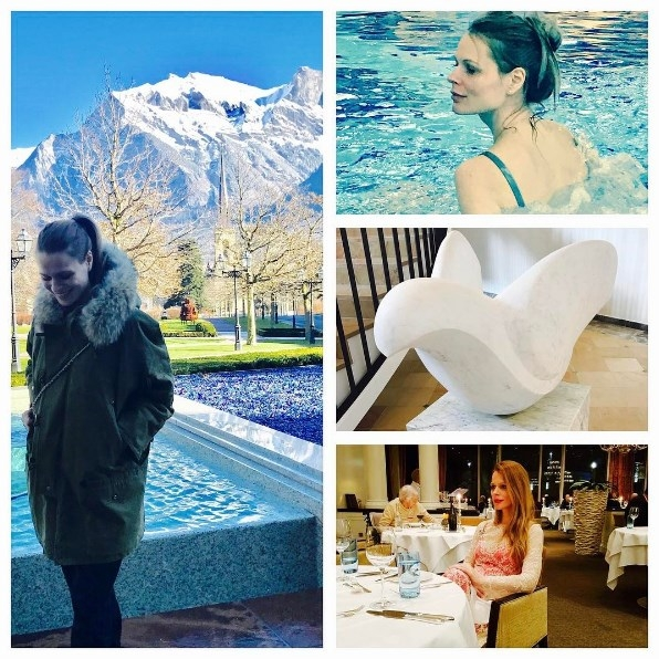 Как отдыхают звезды: беременная Ольга Фреймут наслаждается SPA в Швейцарии (ФОТО) - фото №1
