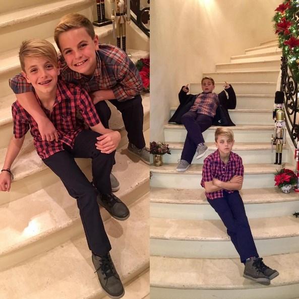 Бритни Спирс показала подросших сыновей (ФОТО) - фото №1
