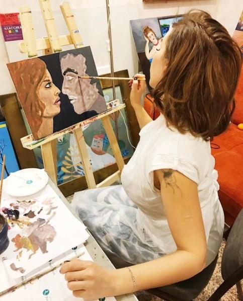 Анфиса Чехова нарисовала семейный портрет, намекнув на проблемы с мужем (ФОТО) - фото №2
