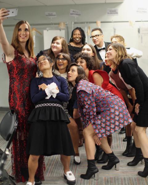 New York Fashion Week: Вупи Голдберг, нестандартные модели и политика на подиуме Opening Ceremony