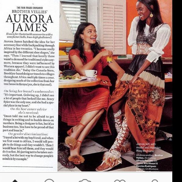 Босоножки раздора: дизайнер Аурора Джеймс обвинила Zara в плагиате