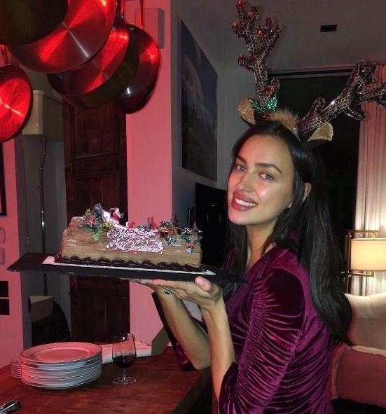 Беременная Ирина Шейк налегает на сладости: супермодель похвасталась шоколадным тортом (ФОТО) - фото №1