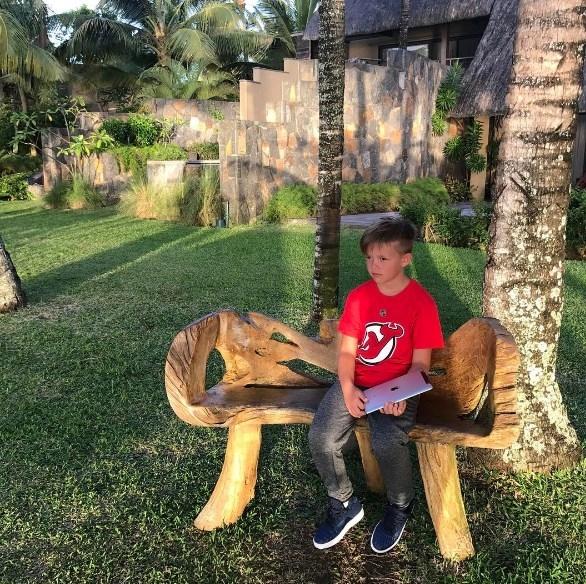 8-летний сын Потапа рассказал о своей девушке - фото №2