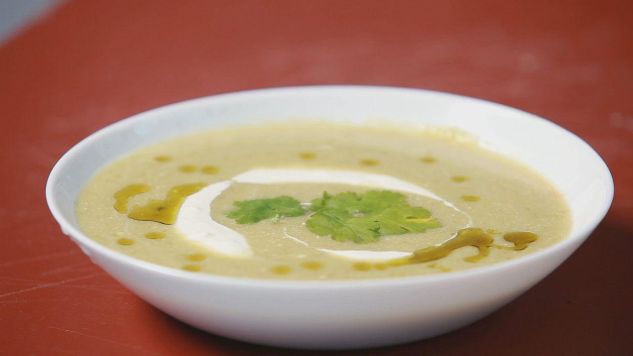 Суп-пюре из брокколи. Видео-рецепт - фото №8