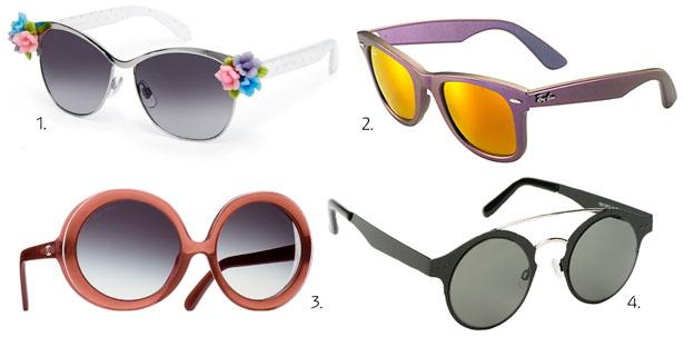 Очков очарованье: модные солнцезащитные очки лета 2014 - фото №1