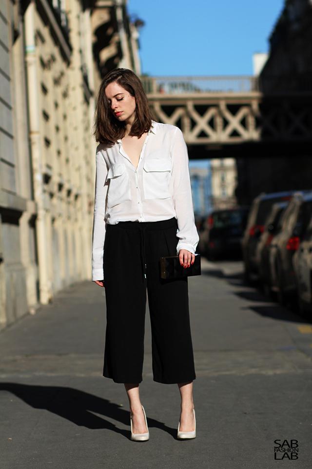 Тренд: модные брюки-кюлоты - фото №13