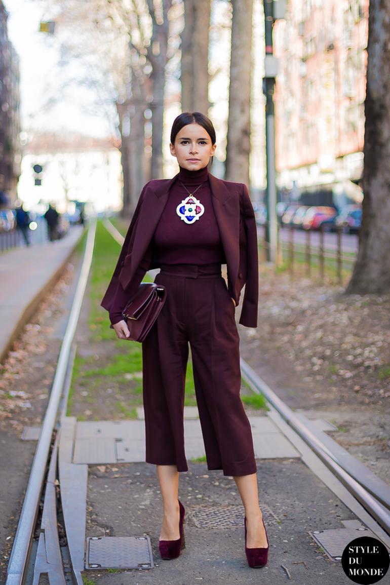 Тренд: модные брюки-кюлоты - фото №12