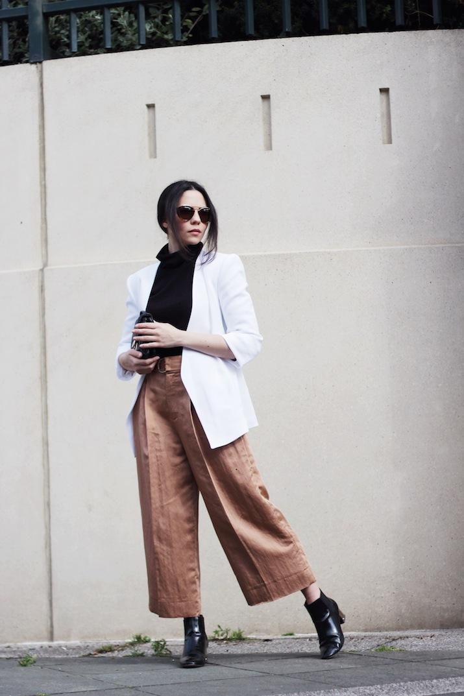 Тренд: модные брюки-кюлоты - фото №11