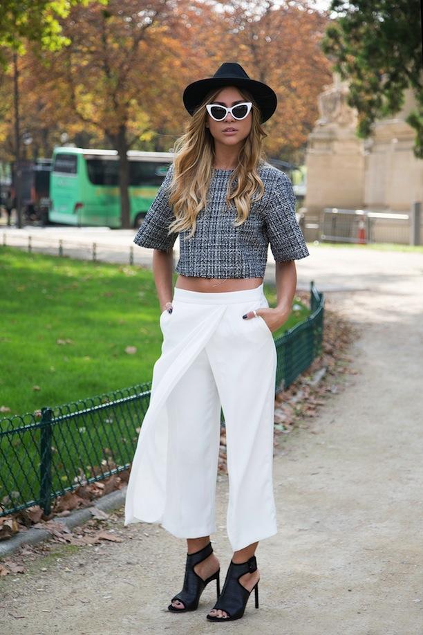 Тренд: модные брюки-кюлоты - фото №25