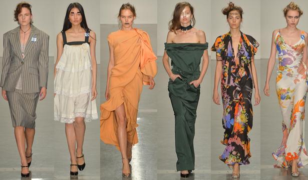 Неделя моды в Лондоне: коллекция Vivienne Westwood Red Label - фото №1