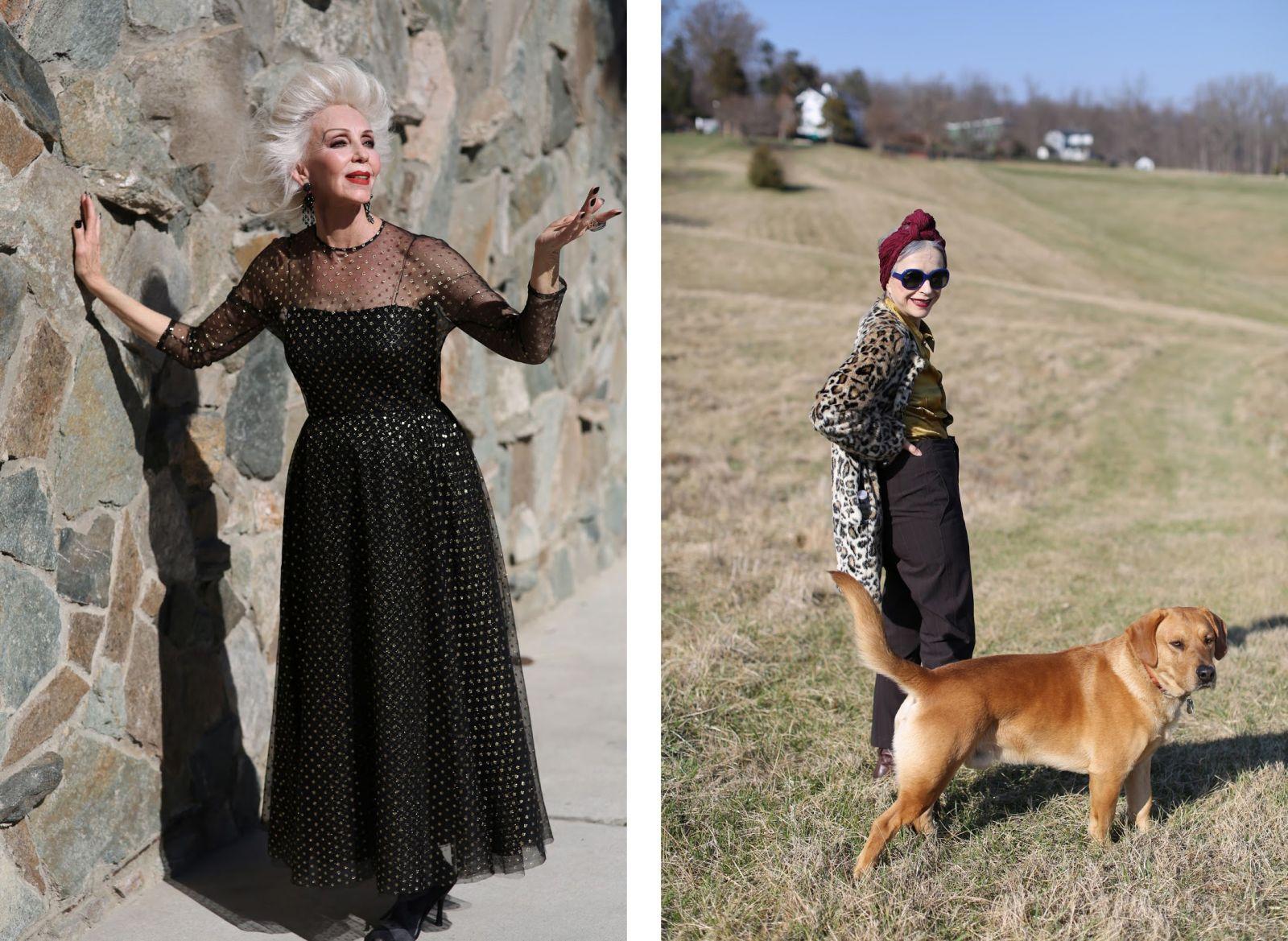 Как быть стильной даже в 80 лет: проект блогера - фото №1