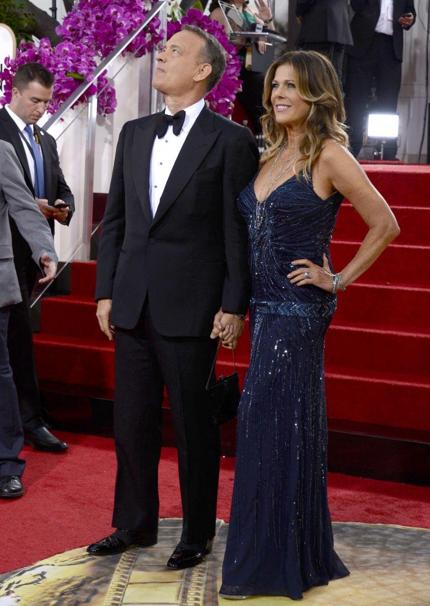 Золотой Глобус 2014: самые красивые звездные пары - фото №2