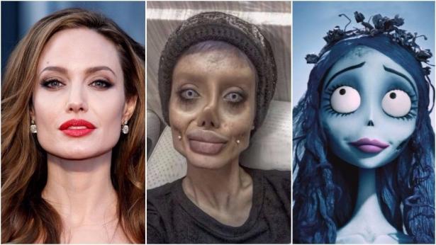 Анджелина Джоли Сахар Табар и Эмили