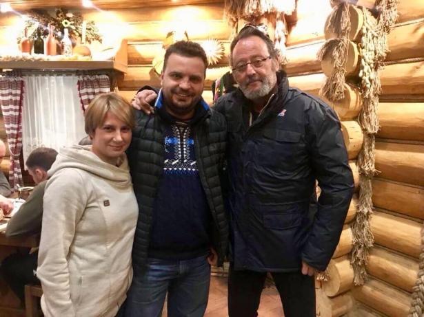Жан Рено в Украине