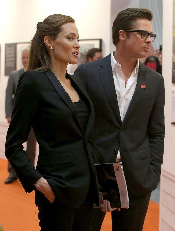 СМИ: Анджелина Джоли и Брэд Питт помирились ради детей - фото №2